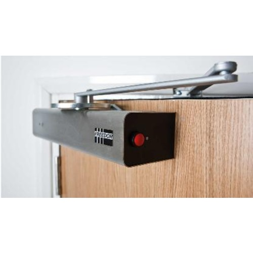 freedor wireless fire door closer deaf equipment. Black Bedroom Furniture Sets. Home Design Ideas