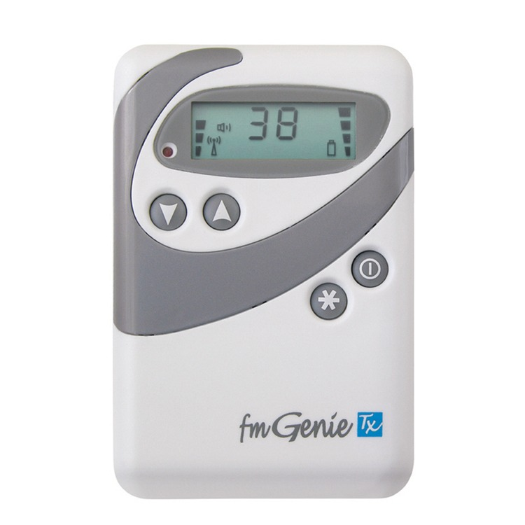 Fmgenie Transmitter With Integral Microphone Deaf Equipment